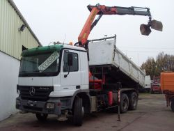 ACTROS 3332 KN 6X4 26 T