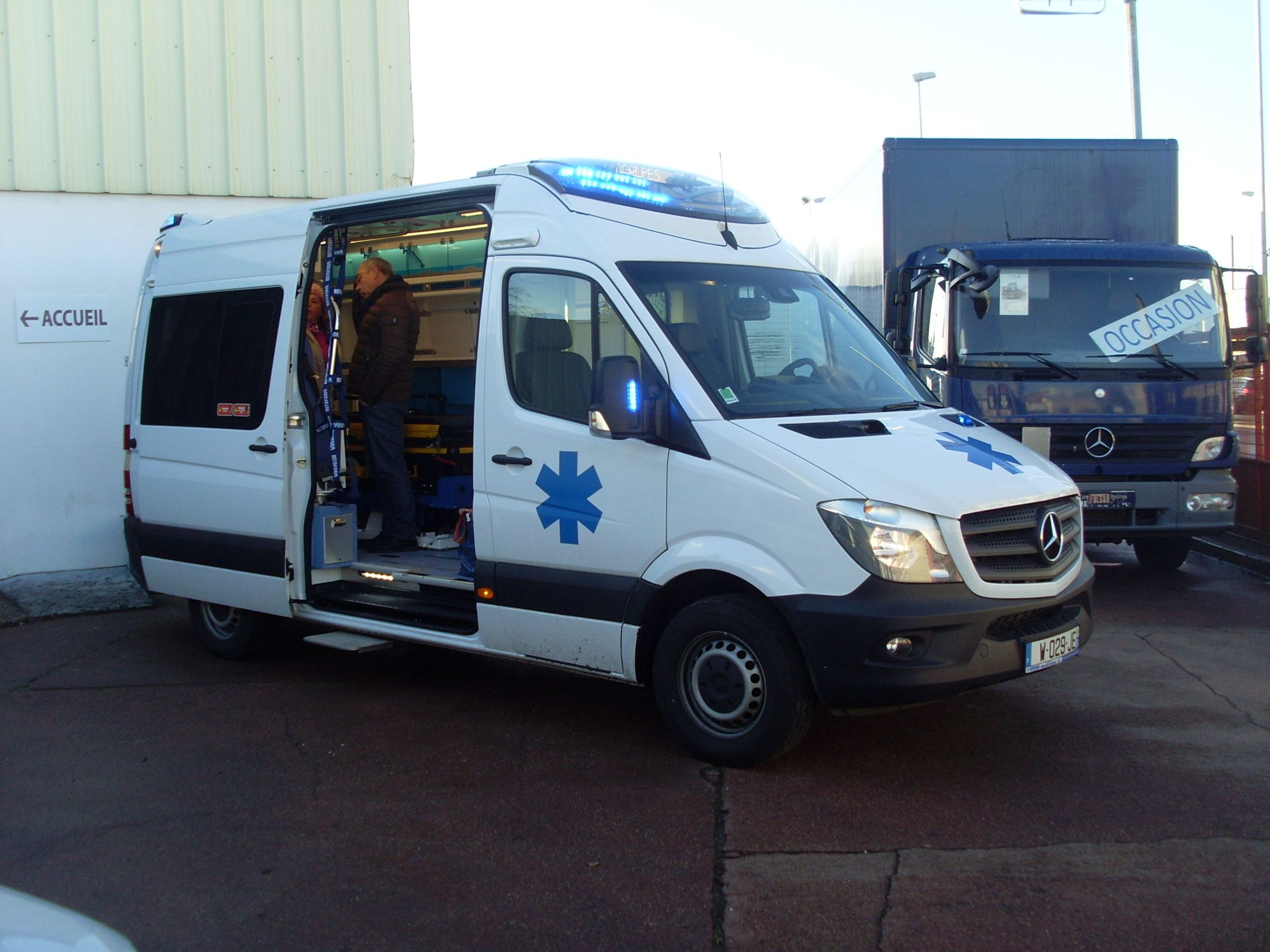 SPRINTER 516 CDI FG Ambulance