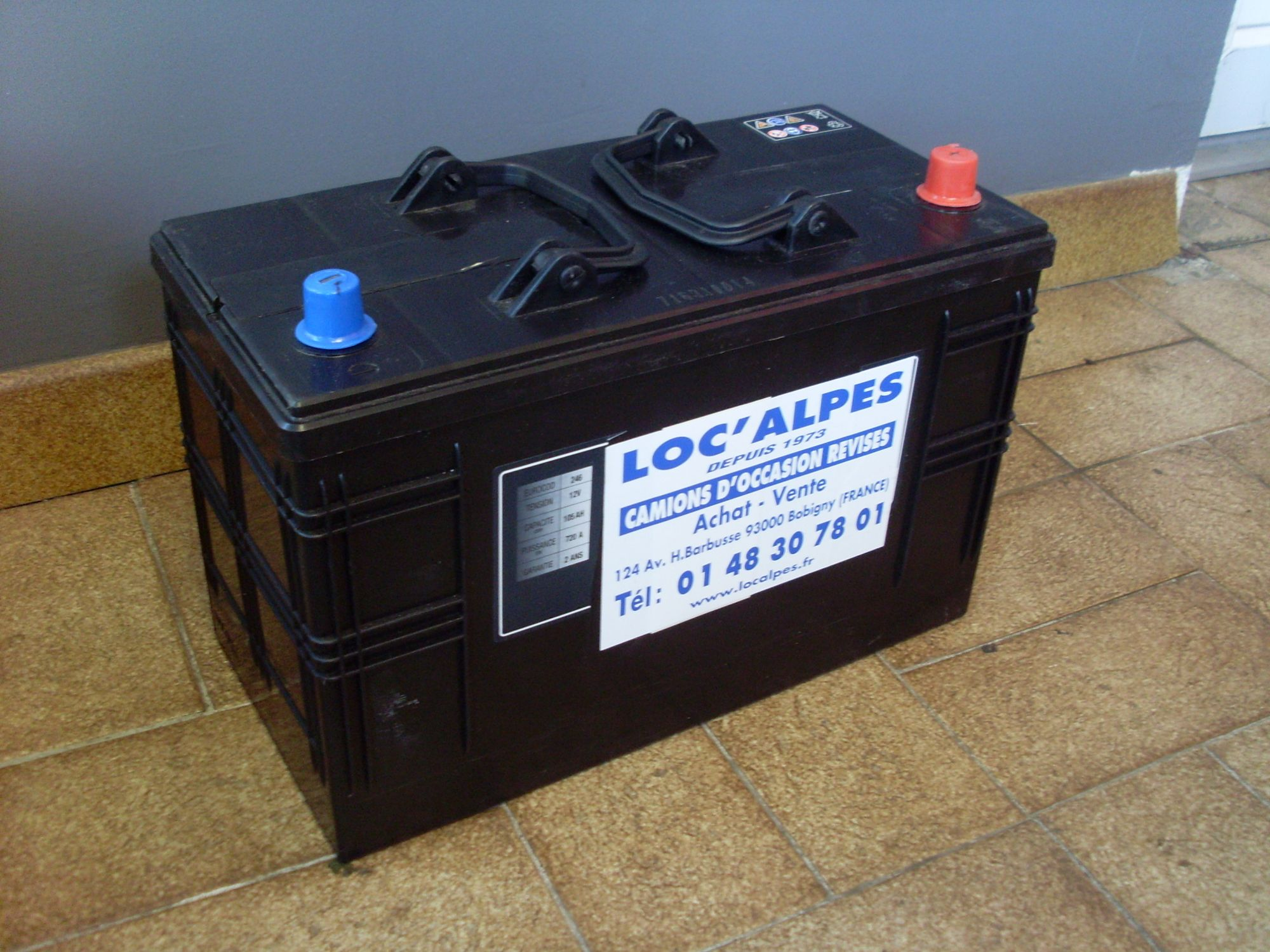 Batteries 12 v en promo, 105ah