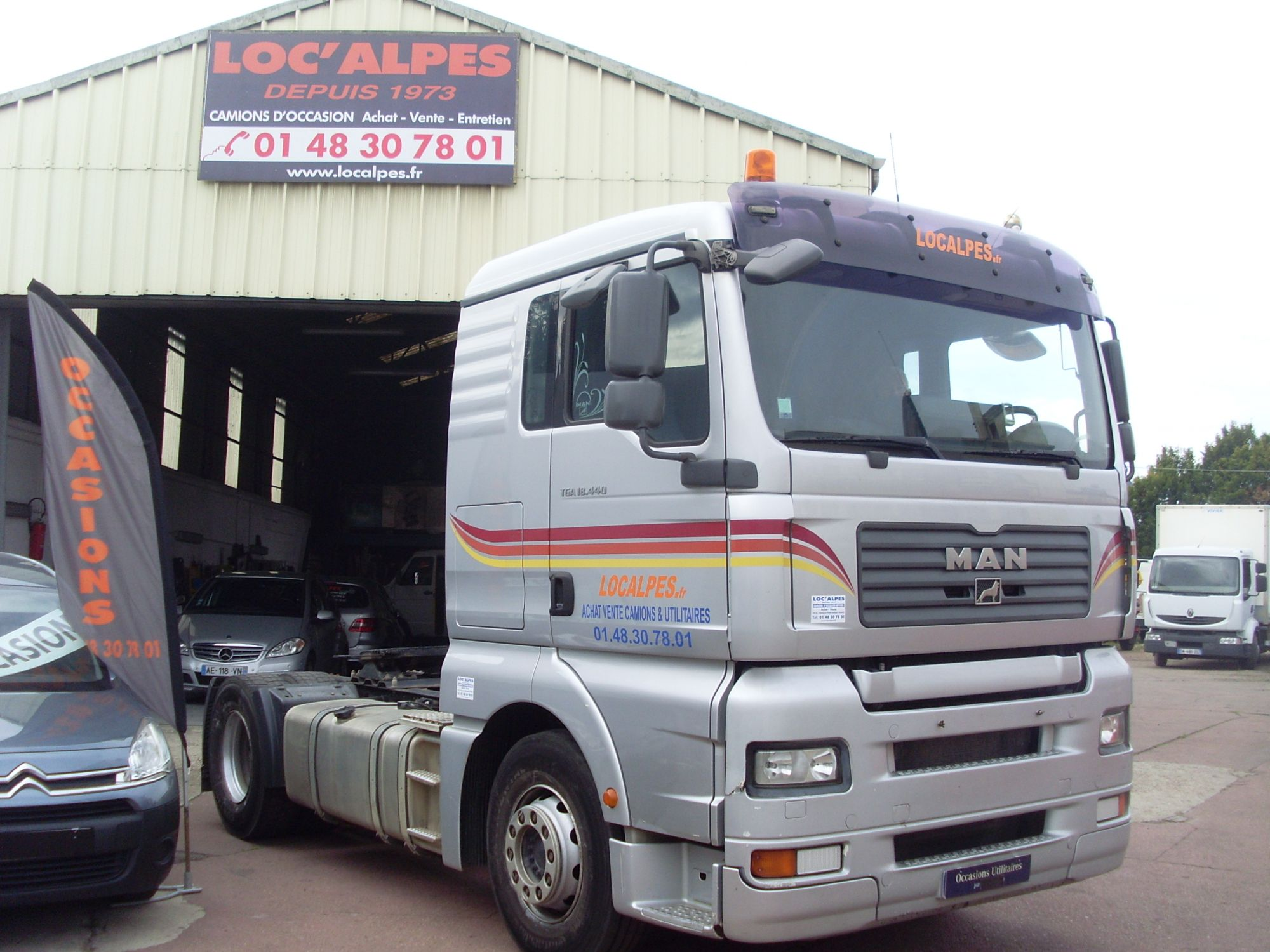 LocationTRACTEUR ROUTIER TGA 18.440 19T EURO 4